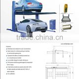 auto hoist two post hydraulic car parking lift CE appoved
