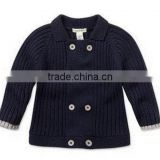 2016 Baby boys cotton knitted cardigan windproof quality                                                                         Quality Choice