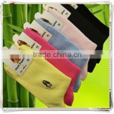 soft fit comfortable ECO friendly wholesale hot selling popular ladies bamboo fiber socks                                                                         Quality Choice