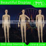 ABS Plastic Dummy Women Dress Mannequin Female Model