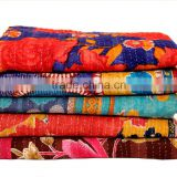Indian Patchwork Quilt Indian Patchwork Throw Bed Decor Kid quilt Indian