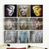 Wall art decor acrylic buddha painting/ canvas painting of lord buddha