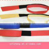 Nylon webbing strap for binding cables