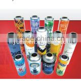 Lacquer-inside empty aerosol spray can for various flavors air freshener with 4/6 color printing diam 45/52/57/65mm