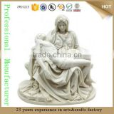 resin wholesale reproduction antiques statue white marble pieta statues Sculpture Madonna Jesus