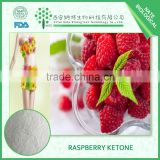 Professional manufacturer Pure Natural Organic Raspberry Ketone Powder for slimming