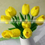 Cheap wholesale blue tulip flower real touch flowers small artificial flowers tulip artificial flowers pu artificial flower