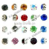 Crystal Beads Austrian Sew 4mm 6mm 8mm Crystal Rhinestones for Jewelry
