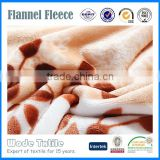 China Supplier High Quality Custom Printed Design Flannel Fabric