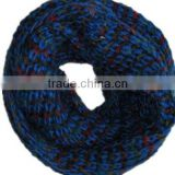 Mixed color fashion two laps collar scarf knitting machine