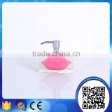 wholesale customized lovely hotel bathroom accessories liquid soap dispenser                                                                                                         Supplier's Choice