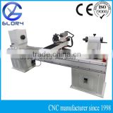 CNC Wood Turning Lathe with 3.5KW Air Cooled Spindle, Stepper Motors, DSP Handle Controller