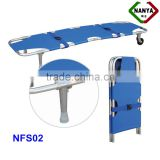 conveninent medical folding transporting stretcher
