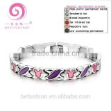 Titanium magnet pure germanium bracelet health care scalar energy women's bracelet fashion jewelry