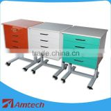 Colorful and small AM-11-4 dental clinic cabinet high quality competitive price mobilizable dental furniture wooden