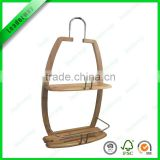 Hot sale wooden shampoo storage rack for bathroom