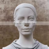 Fashion female mannequin for display female plus size stand female jewelry display earrings mannequin
