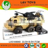 Hot-selling plastic tank toy military vehicle toy truck