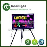 Acrylic Flashing Illuminated Erasable Neon LED Message Menu Sign Writing Board with Control Button