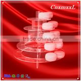2016 Fast-sell New Patent Multifunctional Macaron Tower ,5 Tier Acrylic tower stand ,Macaron display tray,macaron packaging