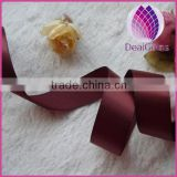 High quality double face satin ribbon 16 mm width 196 kinds color for option