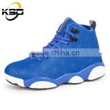 NEW summer popular breathable light rubber sole men sport basketball shoes