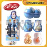 SK-Q217 Penguin Cartoon Toy Chocolate Coated Biscuit