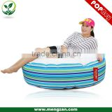 outdoor Giant bean bag couch, adult reclining bean bag ottoman
