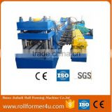 Popular type highway guardrail used steel roll forming machine for sale made in China