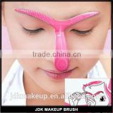 DIY Beauty Makeup Tool Eyebrow Shaper Template Stencil Shaping Brow Grooming Useful Easy Eyebrow Stencils