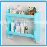 Bathroom Plastic Double-deck Storage Rack
