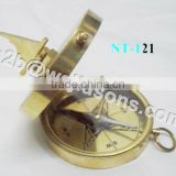 Nautical Decor Compass/ Nautical Gift Compass/ Brass Nautical Compass For Gift Purpose