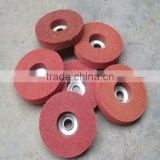Duralium surface fiber buffing brush/non-woven abrasive wheel