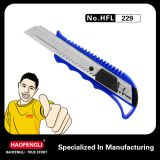 HFL 229 Cheapest Hot Selling Plastic PP Handle Cutter Knife-18mm Blades