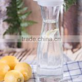 Water Carafe Juice Infuser Borosilicate Bottle Glass Pitcher 1.5L/ 53 oz
