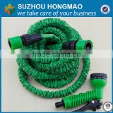 brass fitting expandable garden hose/fabric flat garden hose/high pressure garden hose nozzle