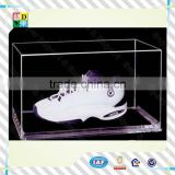 customized clear acrylic shoe box simple design hot sale high transperant acrylic shoe display case acrylic sports shoe case