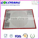 29X42cm Oven Safe Silicone Baking Mat coated with Fiberglass