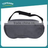 Toprank Free Sample Wholesale Airline Novelty Sleeping Eye Mask Shade Nap Cover Blindfold Travel Black Eye Mask