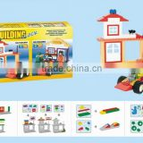 Hot selling building block toys funny car series toys for kids