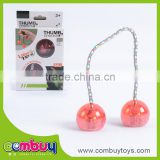 Hot sale cheap fidget kids play finger toys light led yoyo