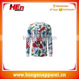 Hongen apparel All Over Sublimation Printing Men's T-Shirt , Customized Tie Dye T shirt Wholesale