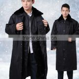 Prevent cold Security Uniform Military Uniform/long down coat