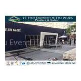 Glass Wall Panel Custom Sport Event Tent , Heavy Duty Tent With 600 Square Meters