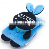 factoy custom rabbit soft plush phone bag