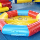 AOQI product good selling top quality colorful inflatalbe pool for water game