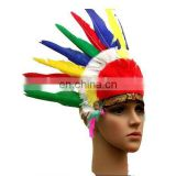 wholesale cheap indian feather headdress FW-0086