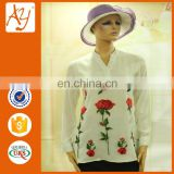 Latest ladies embroidered blouse styles