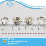 New product metal ring pearl snap buttons for fabric