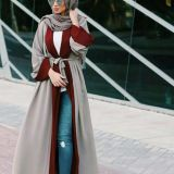 Turkey's Leisure Cardigan Islamic Long Cardigan Dress